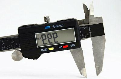 """6"""" INCH ELECTRONIC CALIPER HIGH WITH BOX STAINLESS"""