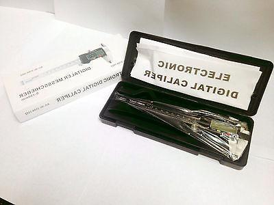 """6"""" INCH CALIPER QUALITY BOX STAINLESS"""
