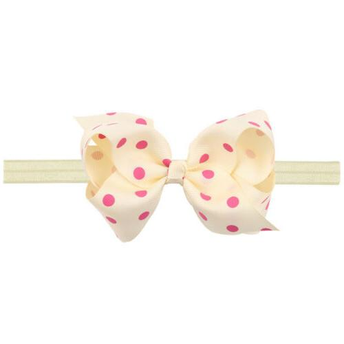 6 Inches Baby Headbands Mix Bows for
