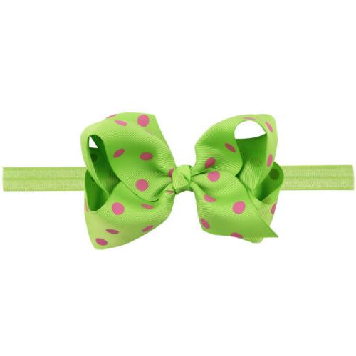 6 Inches Baby Headbands Mix Colors Bows