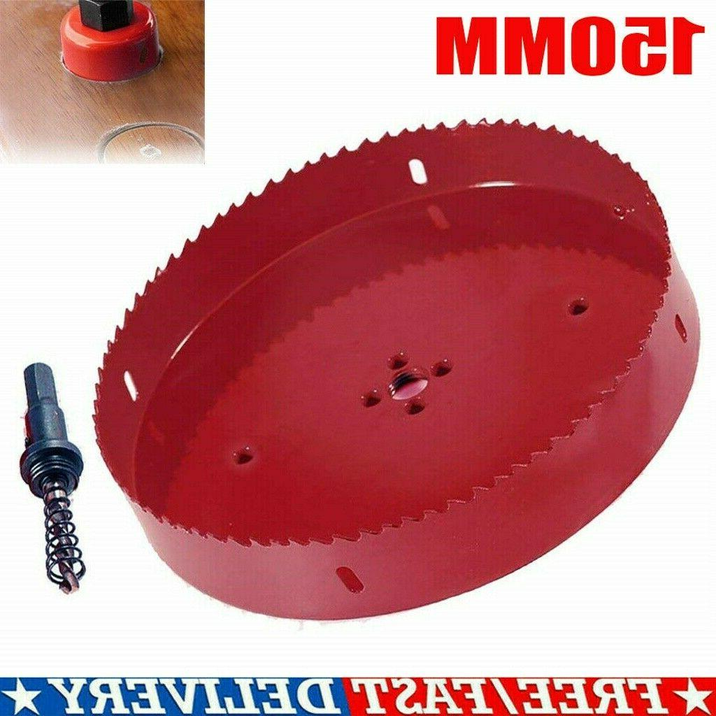 6INCH 150MM HOLE BLADE CUTTER WOODWORKING US SELLER