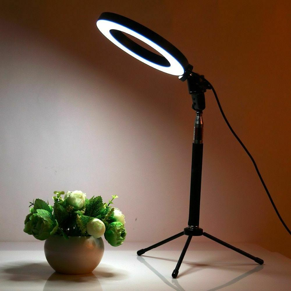 6inch led photo camera ring light dimmable