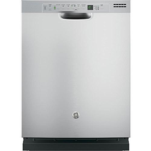 """Ge - 24"""" Front Control Tall Tub Built-in Dishwasher - Stainl"""