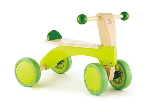 Hape Scoot Around Ride On Wood Bike | Award Winning Four Whe