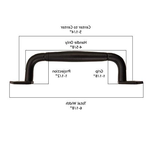 Iron Valley Round Cabinet Handle Pull - Pack of Solid