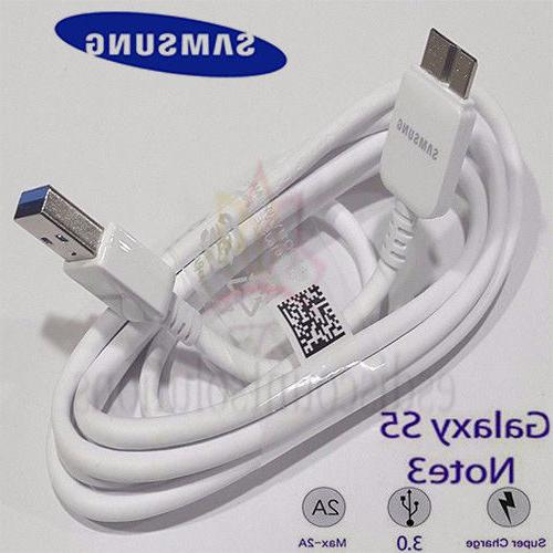 New Original OEM Samsung Galaxy Note 3 S5 USB 3.0 DATA SYNC