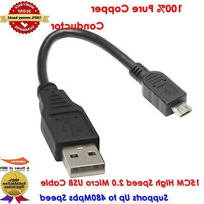 Braided Micro 6 Inches Type - USB