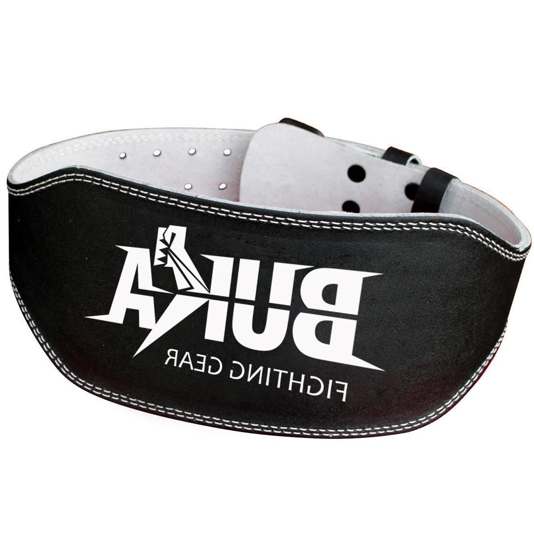BUKA BLACK WEIGHT LIFTING GYM SUPPORT INCH