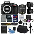 Nikon D3400 Digital SLR Camera +18-55mm AF-P DX Lens +16GB +