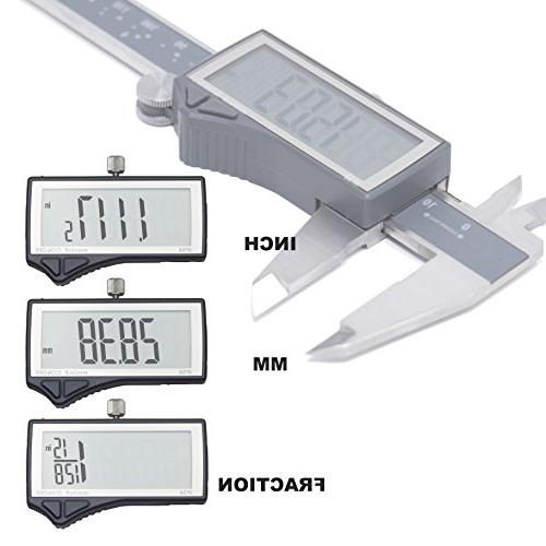 Clockwise Digital Inch/Metric/Fractions IP54 mm Stainless Steel Super Auto Featured Tool