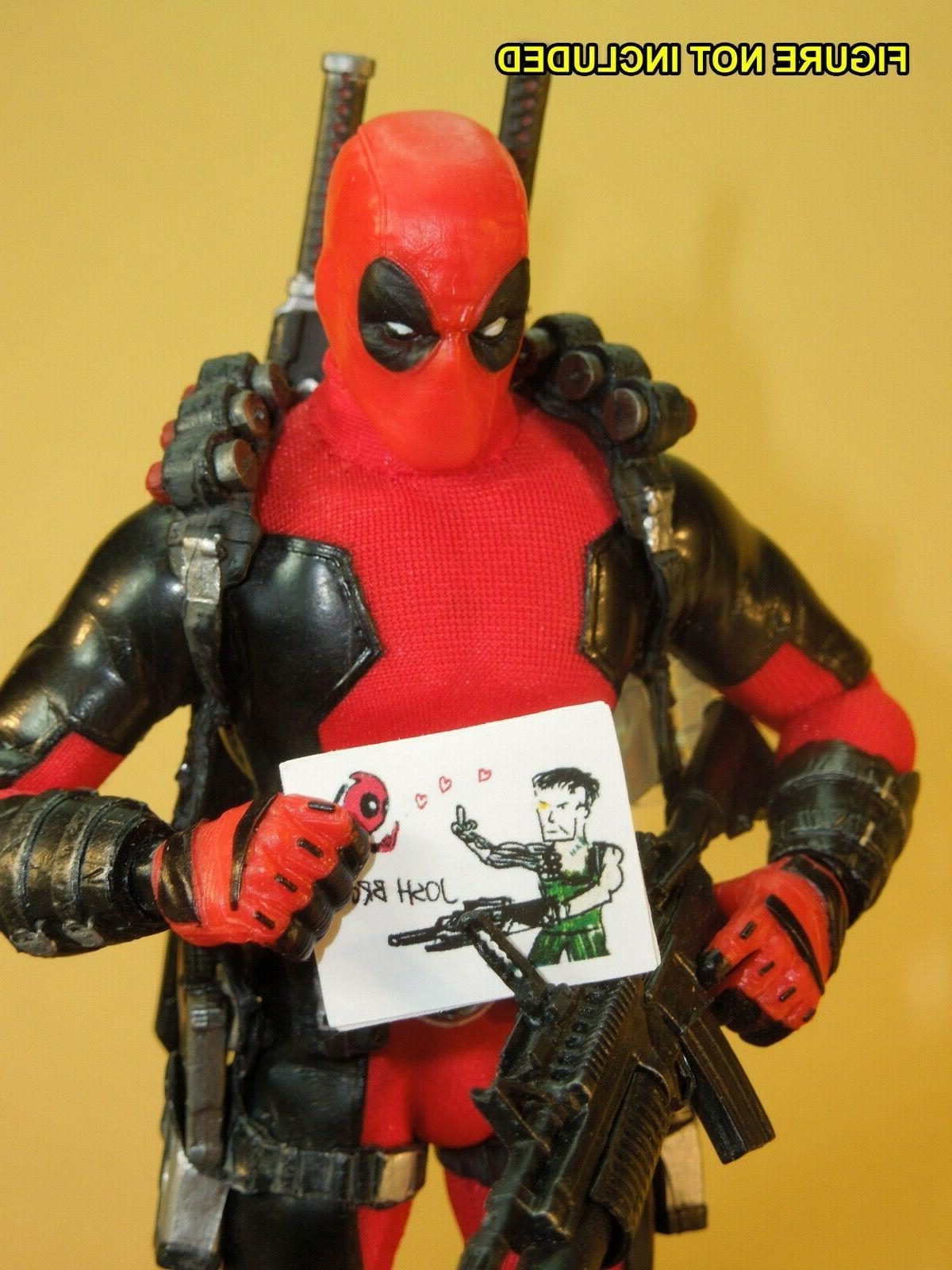 Deadpool - scale Documents - inch figures