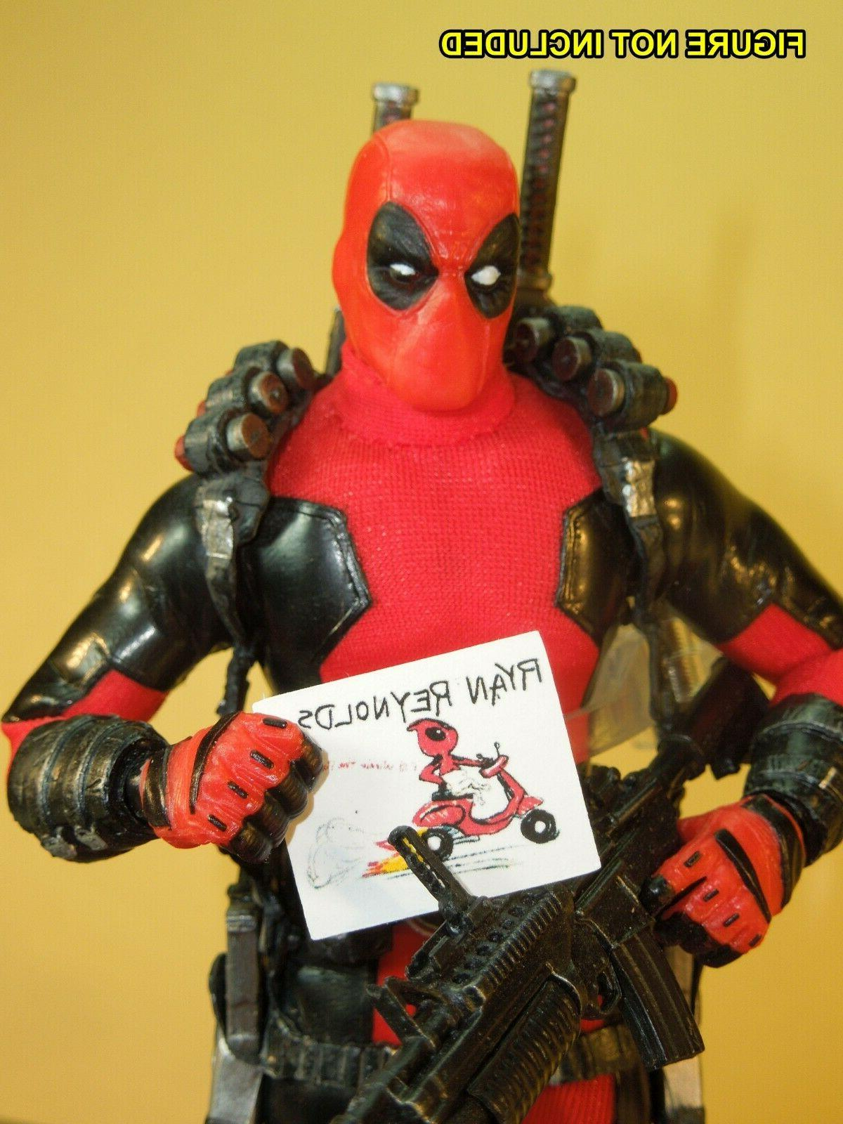 Deadpool - scale Accessories Documents