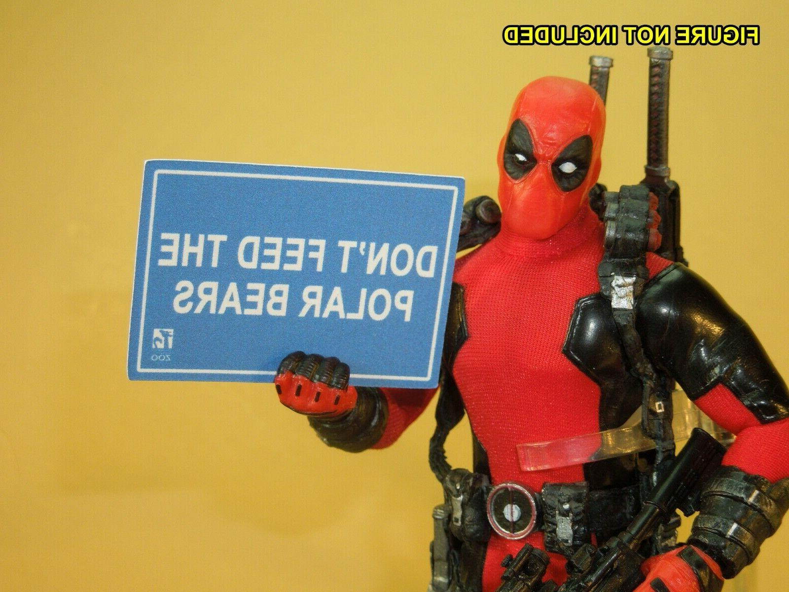 Deadpool 2 - 1/12 scale Custom Accessories / Documents - for