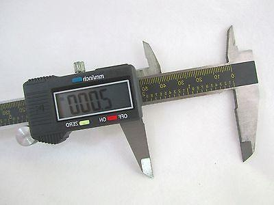 Digital Caliper 6 Inch Stainless Measures with and