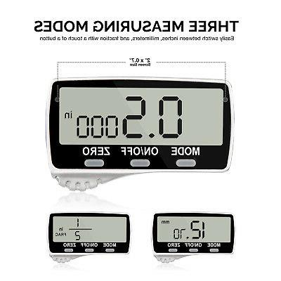 Digital Caliper LCD Lightweight 0-6 Inches Fraction