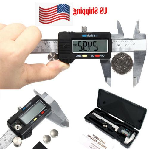digital electronic gauge stainless steel vernier 150mm