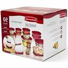 Rubbermaid 50 pc piece Easy Find Food Plastic Storage Contai