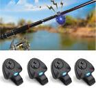 4 x Electronic LED Light Fishing Bite Sound Alarm Alert Bell