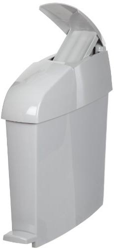 Rubbermaid Commercial Sanitary Step Trash Can, Rectangular,