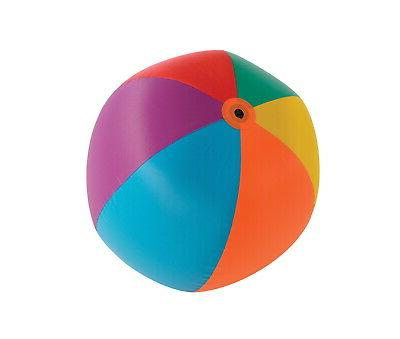 Sportime Heavy Duty Beach Ball, 30 in Dia, Multiple Colors