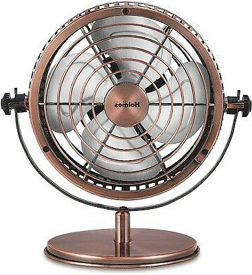Heritage Fan, 6-inch, Brushed Copper Home & Kitchen NEW