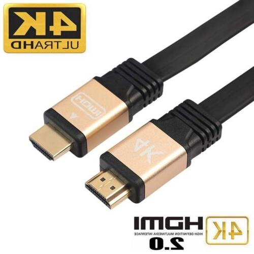 High Performance 4K HDMI Cable for Ultra-4K TV, PS4, Bluray,