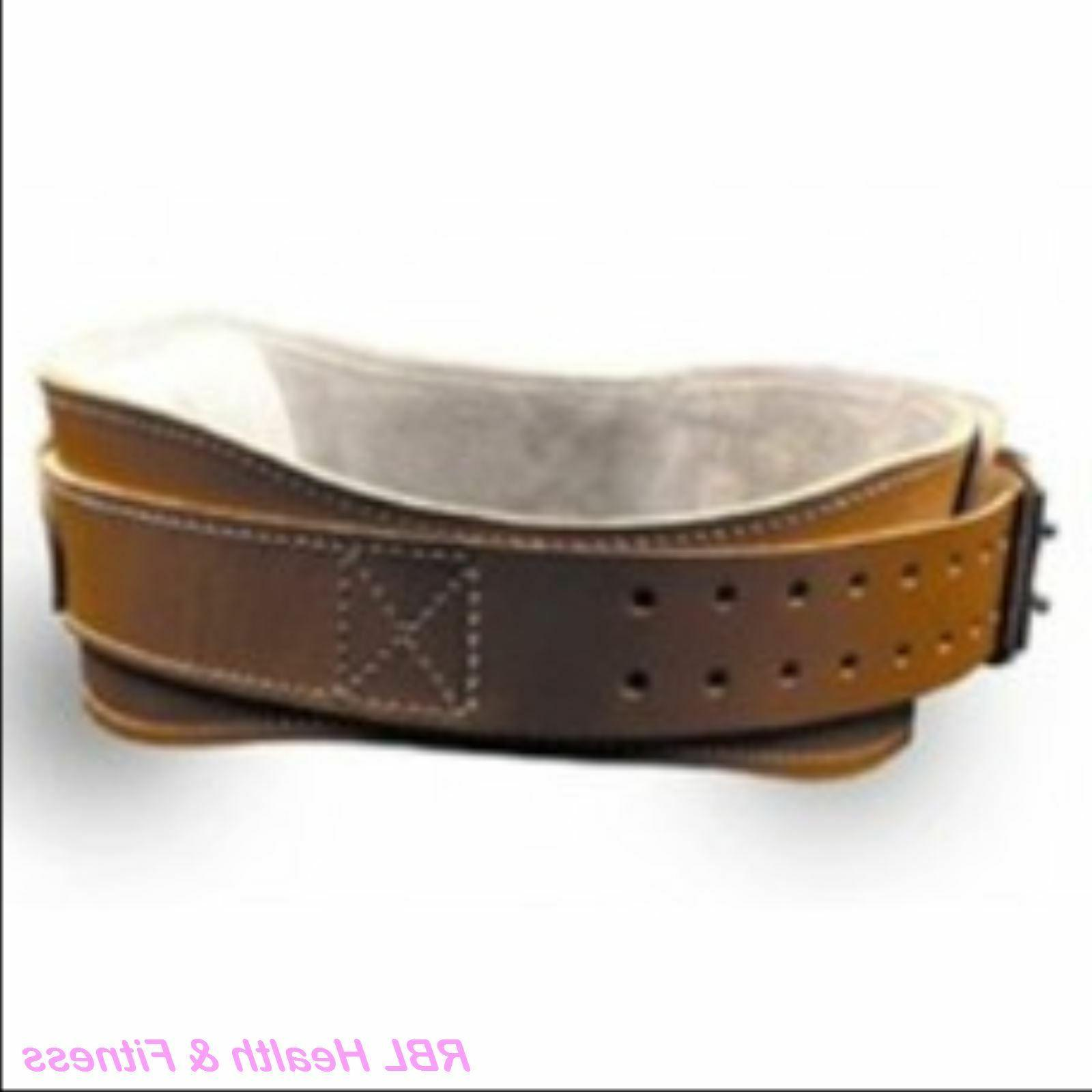 "SCHIEK L2004 4-3/4"" Power Contour Leather Lifting Belt"