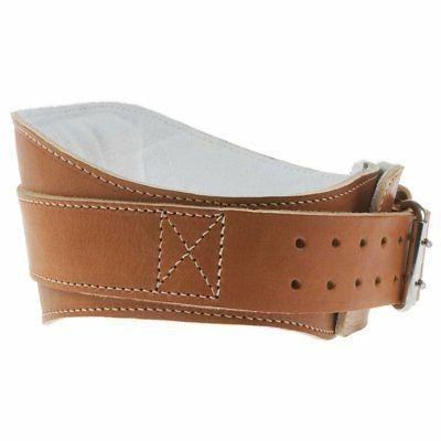 leather weightlifting belt l2004