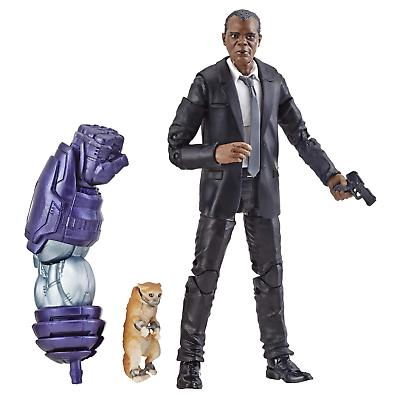marvel legends nick fury 6 inch baf