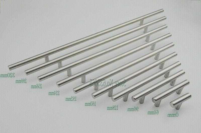 Modern T Steel Furniture Handles Kitchen Pull