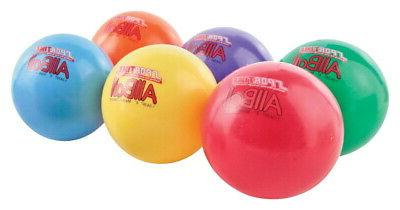 Sportime 6 in Multi-Purpose Inflatable All-Balls, Set of 6