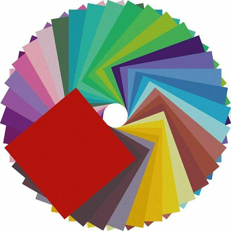 New Origami Paper Double Sided Color - 200 Sheets - 20 Color