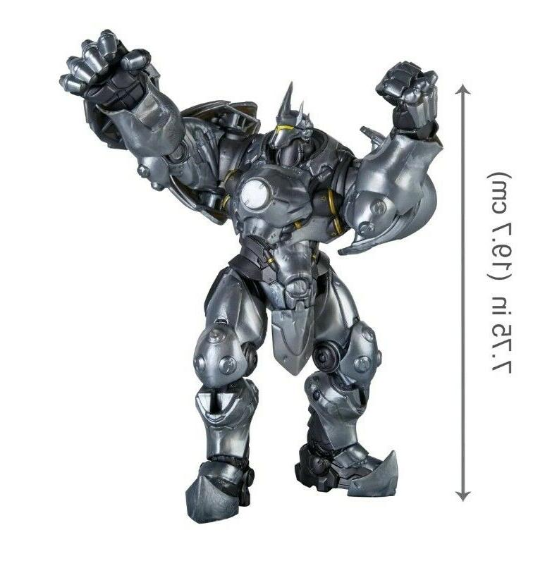 Hasbro Overwatch REINHARDT 6 inch scale Figure Ultimates