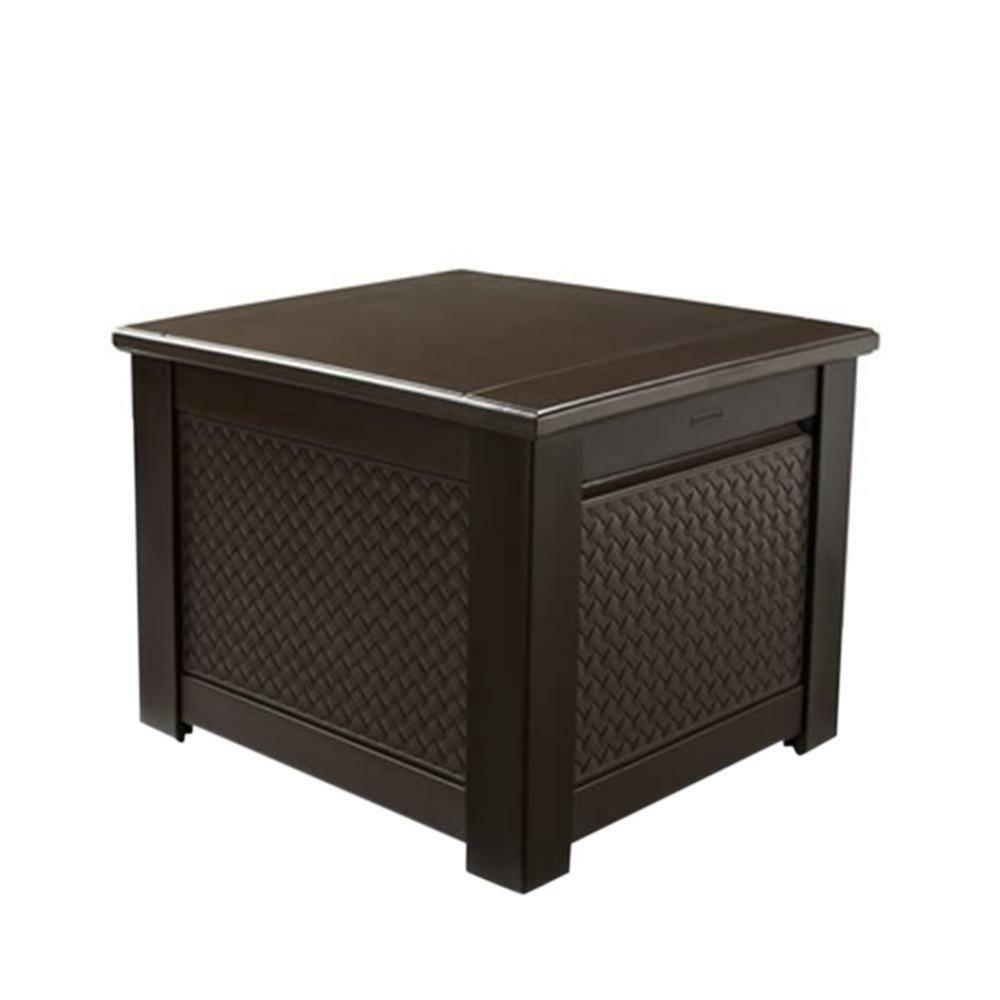 patio chic plastic storage cube