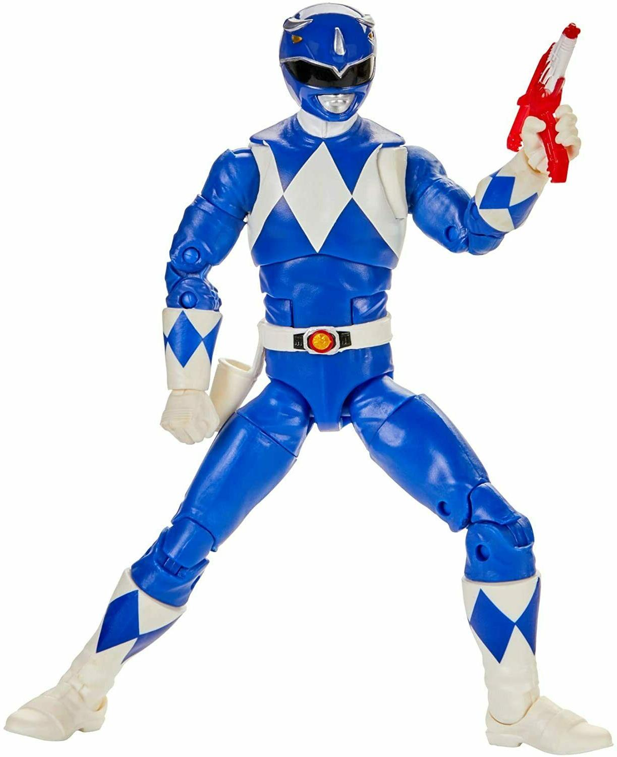 Power Collection Mighty Morphin Blue Ranger 6-Inch*