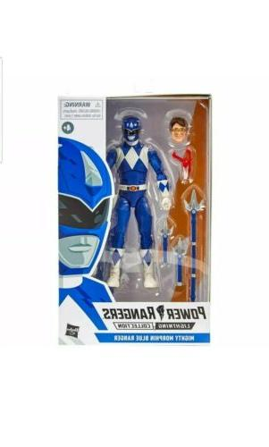 power rangers lightning collection mighty morphin blue