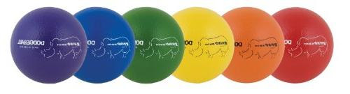 Champion Sports RXD6SET - Dodge Set, Skin, Assorted Balls/Set