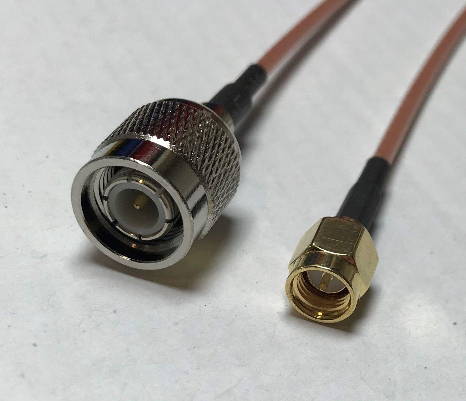 SMA Male to TNC Male RG316 Coaxial Cable High Quality USA Pi