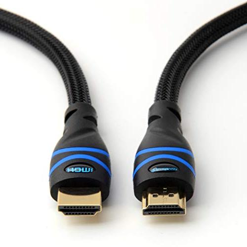 BlueRigger High HDMI cable Supports 3D Audio