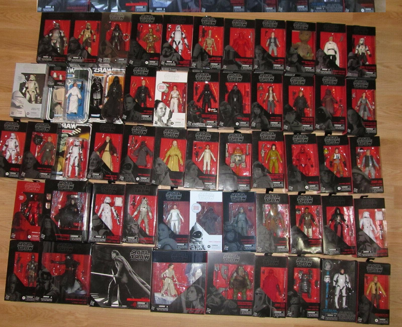 star wars black series action figures collector
