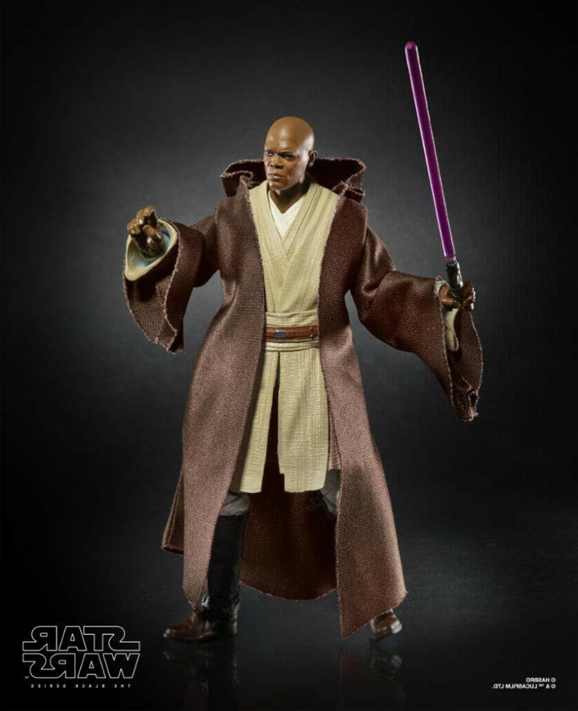 Star Hasbro Windu Action Figure Box Preorder