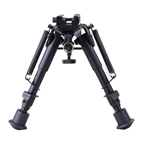 tactical rifle bipod adjustable spring
