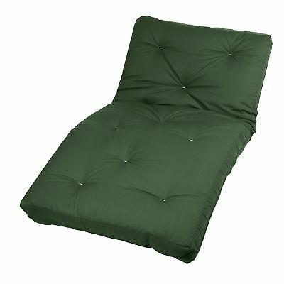 twin size hunter green futon mattress