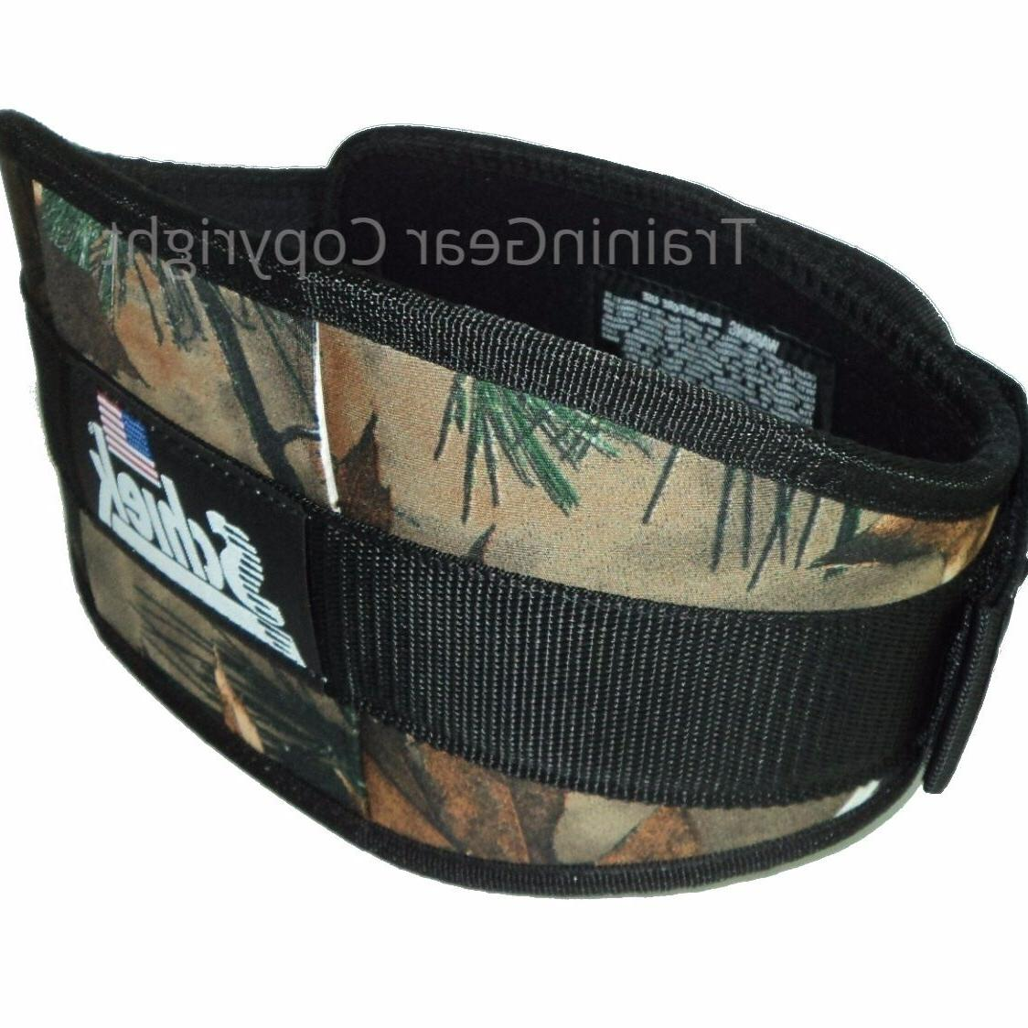 weight lifting belt 2006 6 camo fitness