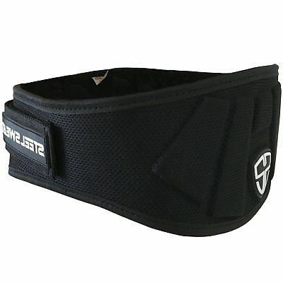 weight lifting belt nylon 6 inch firm
