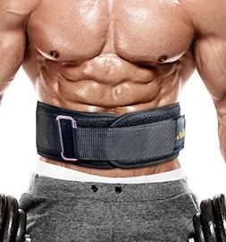 PeoBeo Weight Lifting Belt for Heavy Lifting Workouts | 6 In