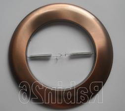 Metal Open Trim Ring for 6 Inch Ceiling R40 PAR38 Recessed L