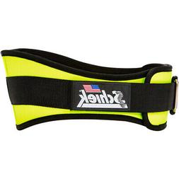 "Schiek Sports Model 2006 Nylon 6"" Weight Lifting Belt - Yell"