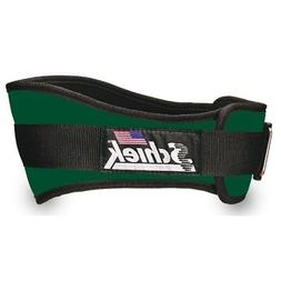 SCHIEK NYLON LIFTING BELT-6 INCH FOREST GREEN EXTRA LARGE