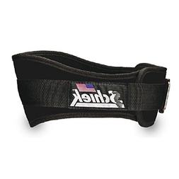 SCHIEK NYLON LIFTING BELT-6 INCH BLACK MEDIUM